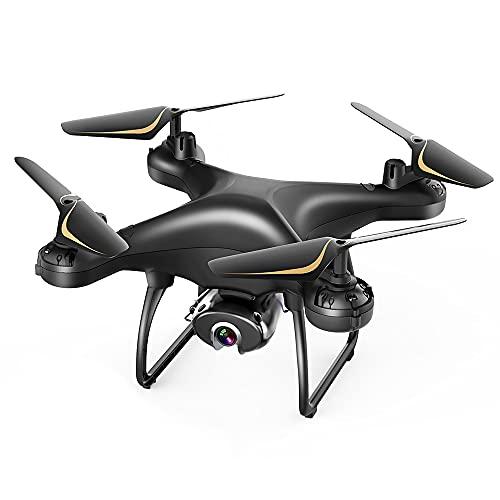 SP650 Drone con Telecamera 1080P FHD, Controllo Vocale, Controllo dei Gesti, Volo Circolare, Rotazione ad Alta Velocità, Modalità Hovering, Modalità Headless Adatto ai Principianti