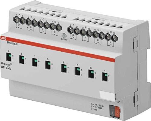 Preisvergleich Produktbild ABB Stotz 1565603 Schaltaktor 8-Fach EIB,  16-C,  I-Det SA-S8.16.6.1