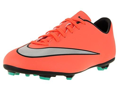 Nike Unisex Jr Mercurial Victory V Fg Fußballschuhe, rosa/grau, EU 36 (US 4Y)