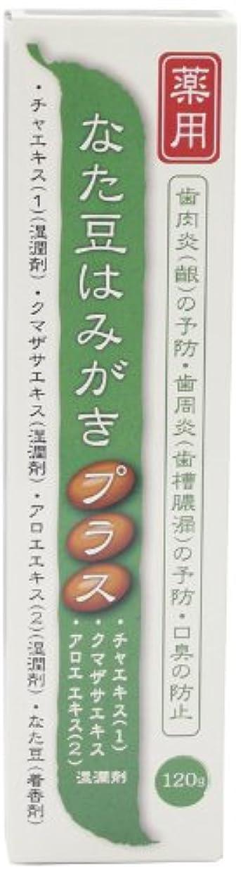 ファンシー時々時々感心するプラセス製薬 薬用なた豆はみがきプラス 120g