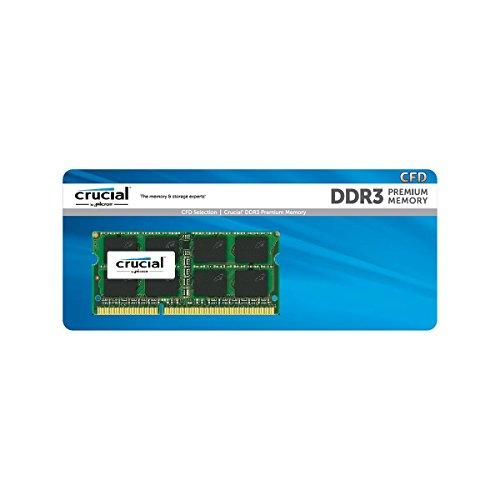 CFD販売 ノートPC用メモリ PC3L-12800 DDR3L-1600 8GB×1枚 1.35V1.5V両対応 無期限保証 Crucial by Micron D3N1600CM-8G