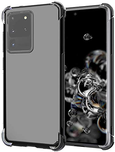 UIYTRAESTING Designed for The Samsung Galaxy S20 Ultra Case [Heavy Duty Protection ] [Scratch-Resistant] [Military Grade Protection] [Ultra-Thin] for Galaxy S20 Ultra 5G (2020), Clear