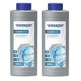 Wessper Descalcificador para cafetera 2 x 500ml - compatible con marcas Delonghi, Dolce Gusto, Nespresso, Senseo