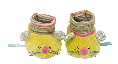 Moulin Roty - Chaussons Souris Vertes Les Pachats