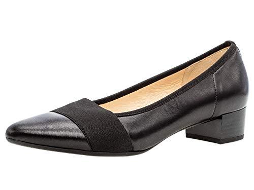 Gabor Damen Pumps 31.432, Frauen Court-Shoes,Absatzschuhe,Abendschuhe,Stöckelschuhe,schwarz,40 EU / 6.5 UK