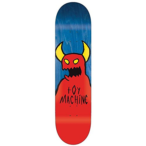 Toy Machine Sketchy Monster Deck Yellow, 8.375