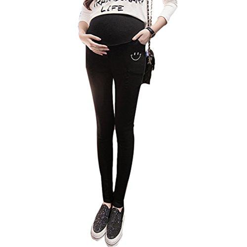 Zhhlinyuan Hot Maternité Winter Pencil Pants Skinny Trousers Pregnancy Pants Leggings