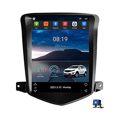 9 'Android 10.0 2.5D Pantalla Radio Estéreo Para Automóvil Navegación Por Satélite, Para Chevrolet Cruze J300 2009-2015 Soporte Bluetooth WIFI GPS Reproductor Multimedia Autoradi(Color:WiFi 4G+64G)