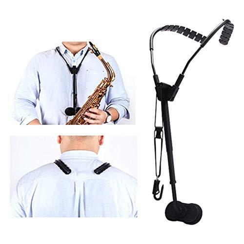 D&F Saxophonriemen Hochwertiger Saxophongurt Schultergurt Verstellbarer Für Sopran - Bariton Sowie Bassklarinette Und Fagott