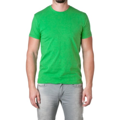 Next Level Mens Premium Fitted Short-Sleeve Crew T-Shirt - Medium - Kelly Green