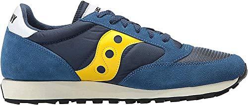 Saucony Jazz Original Vintage, Sneakers Unisex-Adulto, Blue Yellow 7, 44 EU