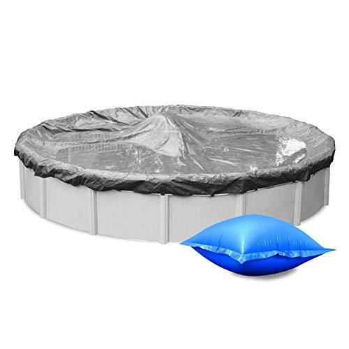 Kinin 2 PCS Almohada De Aire De Invierno para Piscinas sobre El Suelo,Cubierta De Piscina De Invierno Almohada De Aire,Cojines De Aire para Piscina Almohada De Piscina De Invierno Cojines De Piscina