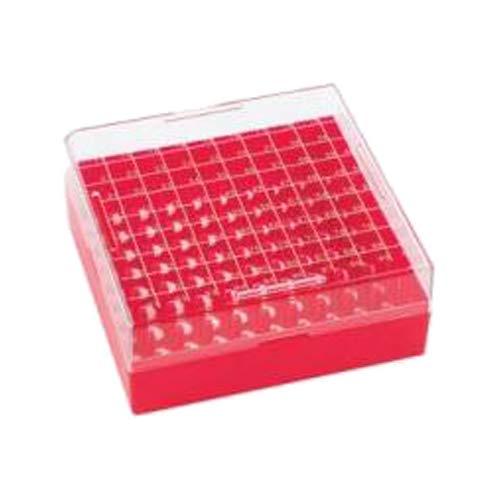 Wheaton Science Products W651704-R Gefrierdosen, niedriges Profil, 100 Stück, Rot