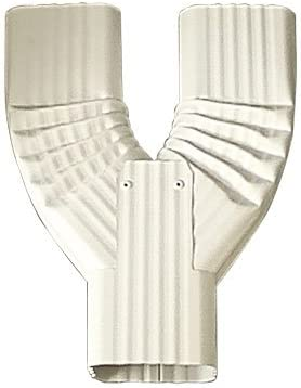 Y Downspout Funnel for Rectangular Downspouts 2x3, Royal Brown