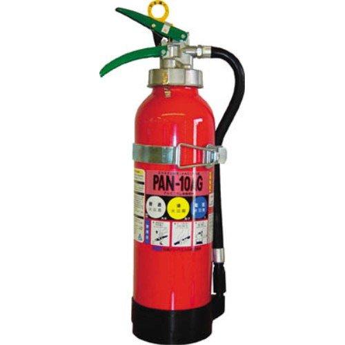 日本ドライ 自動車用・ABC粉末加圧式10型消火器 PAN-10AG(�T)