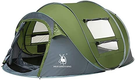 Wangl Camping Jacksonville Mall Topics on TV Products Outdoor People Tent 2-3 Automatic