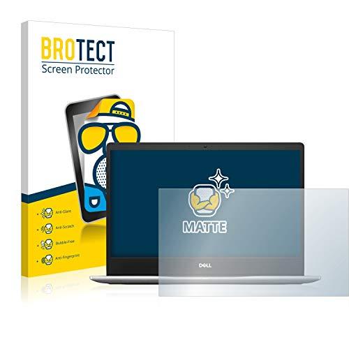 BROTECT Entspiegelungs-Schutzfolie kompatibel mit Dell Inspiron 13 7370 Bildschirmschutz-Folie Matt, Anti-Reflex, Anti-Fingerprint