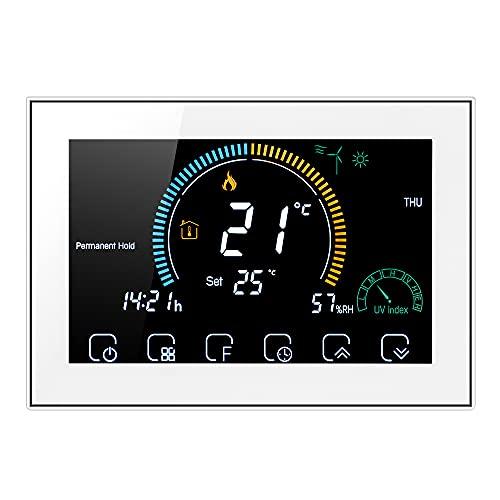 Irishom Termostato WiFi per Caldaia a Gas Controllo App...