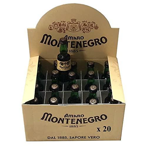 MONTENEGRO AMARO MIGNON MINIATURE 5 CL - 20 BOTTIGLIETTE