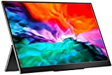 Portable Monitor – 2021 Upgraded 13.3 Inch 1080P FHD HDR FreeSync Slim USB-C Portable Display with...