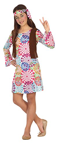 Atosa 20686–Costume da Hippy, Taglia: 128