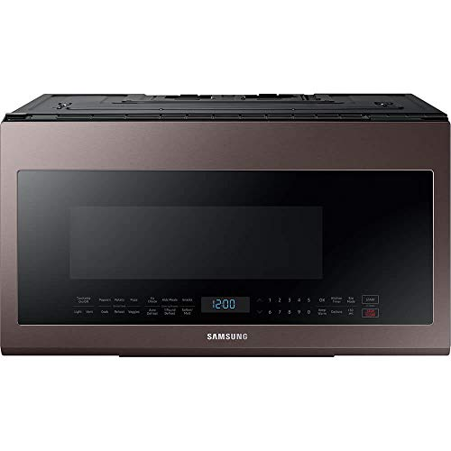 Samsung ME21R706BAT / ME21R706BAT/AA / ME21R706BAT/AA 2.1 cu. ft. Tuscan Stainless Over-The-Range Microwave