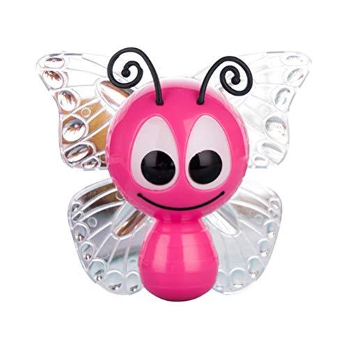 Lámpara De Insectos De Dibujos Animados De Mariposa Pequeño Led Sensor De Luz De Noche De Bebé Inducción De Control Ahorro De Energía Decoración Exquisita