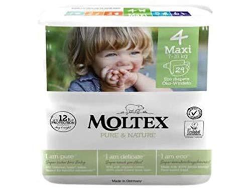 Ontex Moltex Pure & Nature Maxi. Tamaño 4 (29 unidades) – 200 g