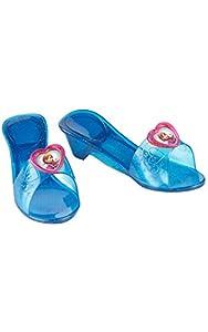 Frozen - Zapatos de Anna para niñas, complemento de disfraz - Talla 4-6 años (Rubie's 36169)