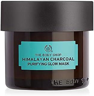 قناع الوجه بفحم الهيمالايا المطهر من ذي بودي شوب، خبرة في العناية بالبشرة، نباتي 100٪، 0.3 اونصة.
