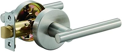 EZ-Set 224420H Hollywood Contemporary Passage Lever, Satin Nickel