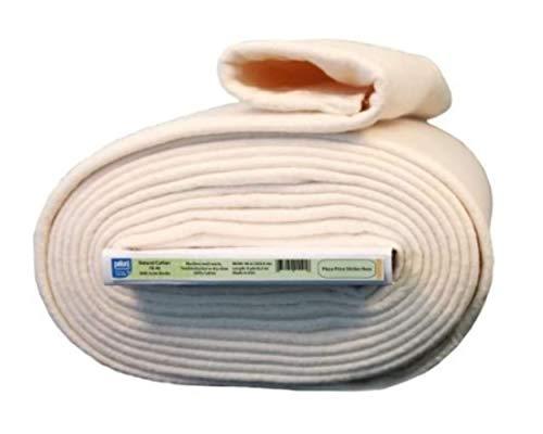 """Batting Natural Warm Cotton Stabilizing Scrim Binder Quilt Rag 96"""" 9 Yard Bolt"""