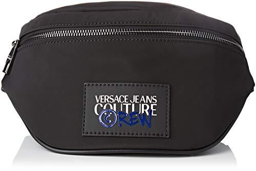 Versace Jeans Couture Borsa Schoudertas voor heren, zwart (899+982), 7x16x25 centimeter (B x H x L)