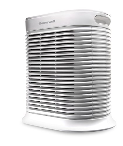 Honeywell HPA100WE4 - Purificador de aire (14 m², 170 m³, 8 h, 1,8 m, 99,97%, Blanco)