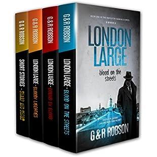 London Large Crime Thriller Series featuring Inspector Harry Hawkins Books 1-3 (plus six bonus stories)