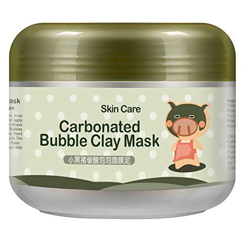 ESHOO Bubble Clay Maske Whitening Schlamm Feuchtigkeitscreme Deep Cleanse Maske (100g)