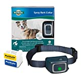 PetSafe Spray Bark Dog Collar - Anti-Bark Device for Dogs 8 lb. and Up - Water Resistant, Rechargeable Collar - Disposable Citronella and Unscented Spray Cartridges