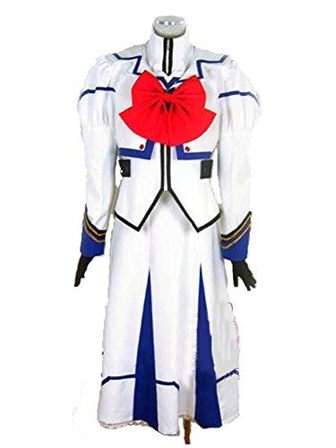 『【JAPAN COSPLAY】魔法少女リリカルなのはA's 高町なのは 制服/コスプレ衣装/コスチューム 女性用』のトップ画像