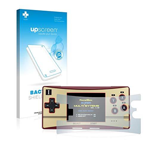 upscreen Antibakterielle Entspiegelungs-Schutzfolie kompatibel mit Waveshare GPM280 - Anti-Reflex Displayschutzfolie matt, Anti-Fingerprint