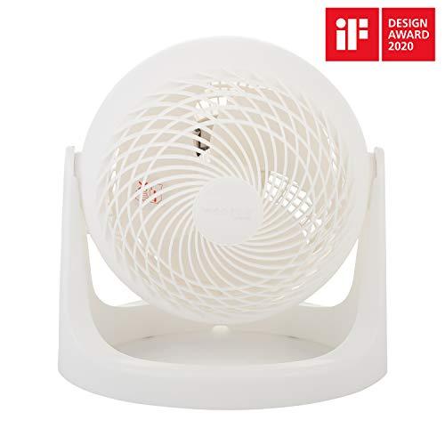Iris Ohyama, krachtige ventilator, stil en compact – Woozoo Grand Wit.