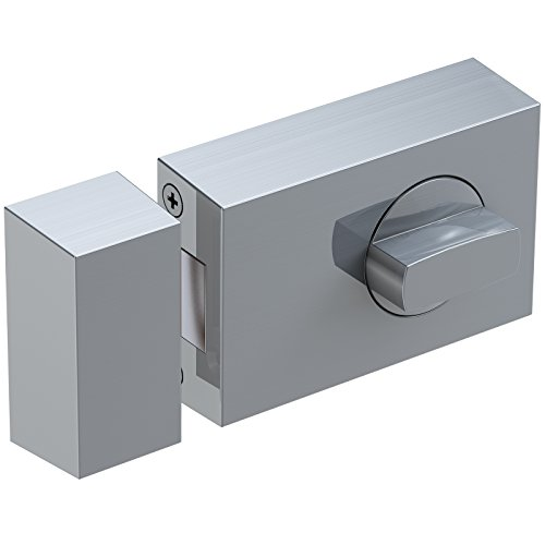 Basi® Kastenzusatzschloss KS500 Tür-Zusatzschloss verschiedene Farben Sicherheitsschloss 1305-0208, Edelstahl