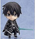 Sword Art Online Kirigaya Kazuto Swordsman Q Version Nendoroid Action Fight Anime Figuras Modelo Estatua Adornos Decoración de Escritorio Estatuas Personajes Juguetes