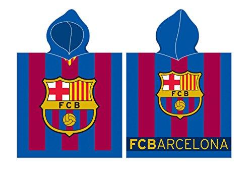 FC Barcelona Poncho 60x 120cm Rizo Poncho toalla