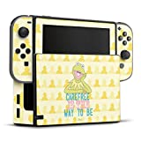 DeinDesign Skin kompatibel mit Nintendo Switch Folie Sticker Kermit Disney Offizielles Lizenzprodukt