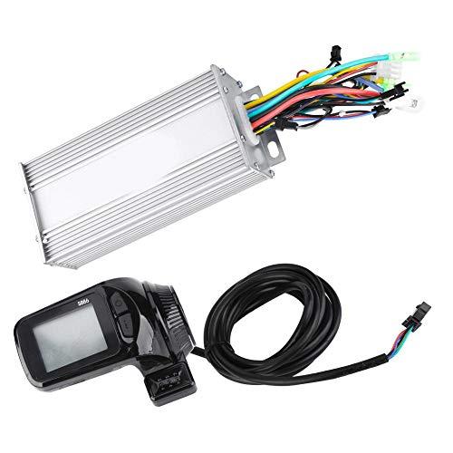 Controlador sin escobillas de motor E-Bike, 24V/36V/48V/60V 1000W Panel LCD impermeable Kit de controlador sin escobillas de motor para bicicleta eléctrica Scooter de bicicleta eléctrica(1000W