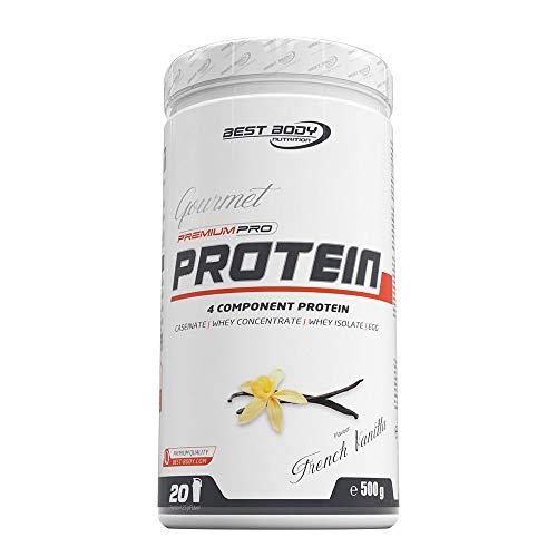 Best Body Nutrition Gourmet Premium Pro Protein French Vanilla Dose, 500 g