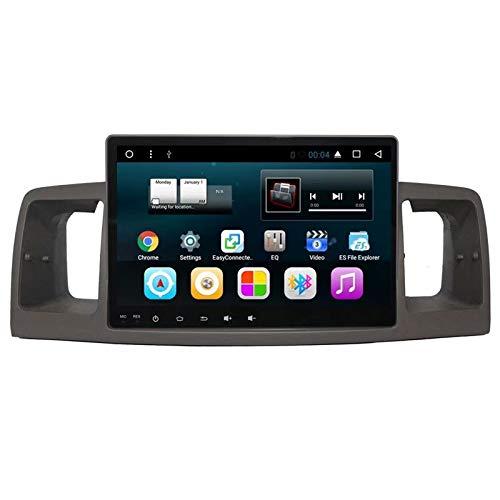 TOPNAVI Anroid 7.1 Unité Centrale pour Toyota Corolla EX 2007 2008 2009 2010 2011 Autoradio GPS Navigation stéréo avec WiFi 3G RDS Lien Miroir FM AM BT Audio Vidéo