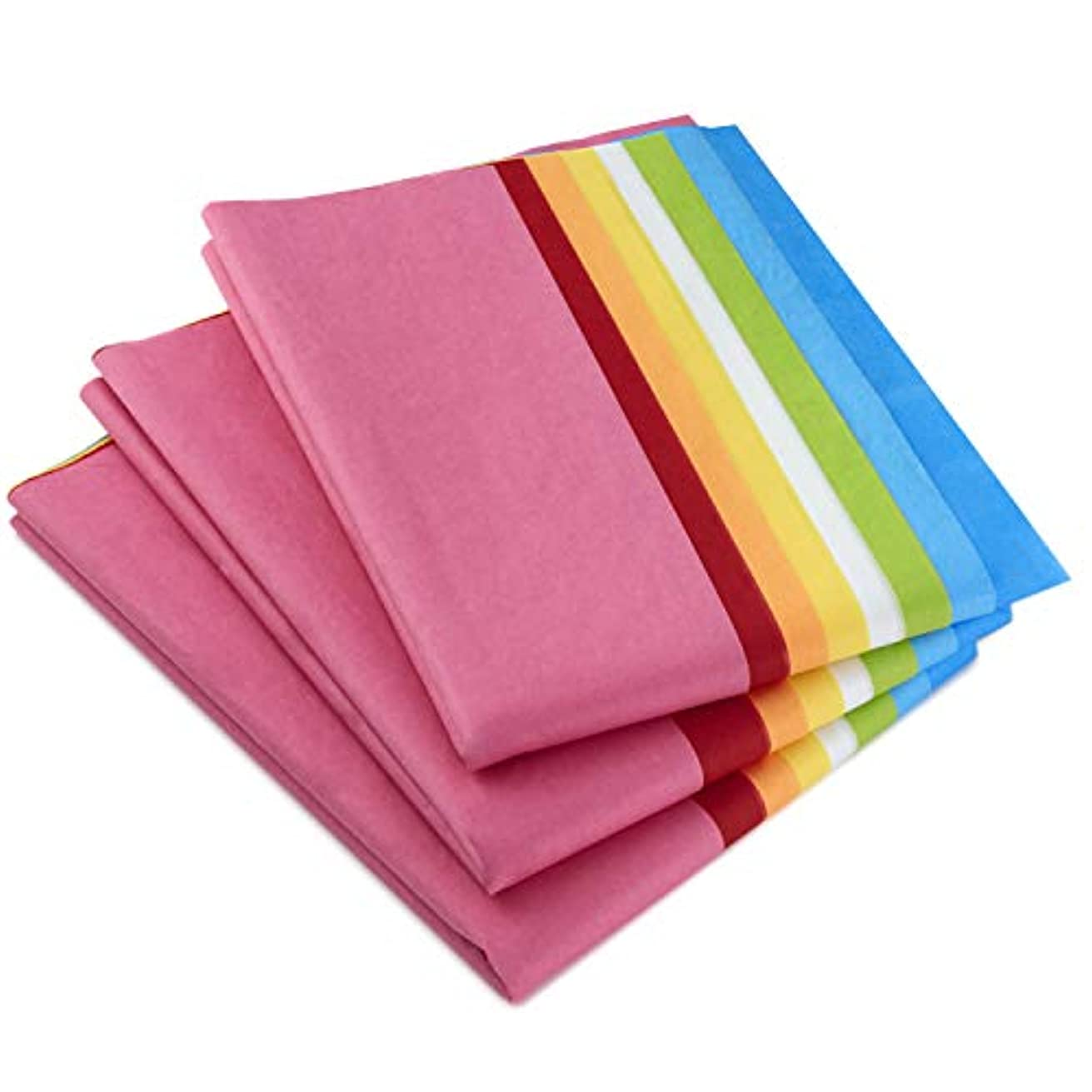 Hallmark Tissue Paper, 120 Sheets (Classic Rainbow, 8 colors)