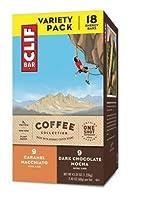 CLIF Bar Coffee Collection Variety Pack クリフバー バーコーヒーコレクションバラエティパック1,220g(68g x 18バー) [並行輸入品]