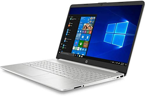HP 15S-FQ1002NA Silver Notebook 15.6' Intel Core i5 1035G1, 8GB DDR4, 256GB Solid State Drive Wireless 11ac & Bluetooth 4.2, HD Webcam, Windows 10 Home - UK Keyboard Layout - Non HP Plain Box